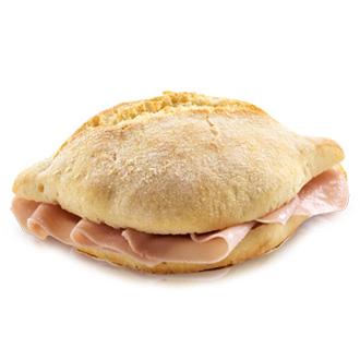 Pão com fiambre