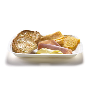 Big Breakfast Ham & Cheese