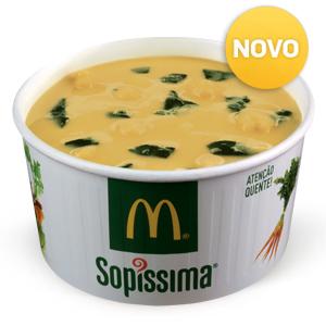 Sopa Grão e Espinafres 150ml