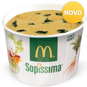 Sopa Grão e Espinafres 300ml