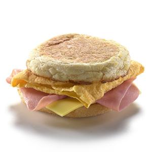 Ham & Omelette McMuffin®