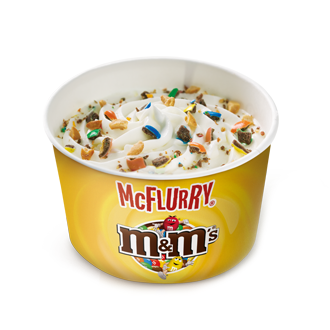 Mini McFlurry M&M