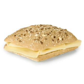 Pão de sementes com queijo