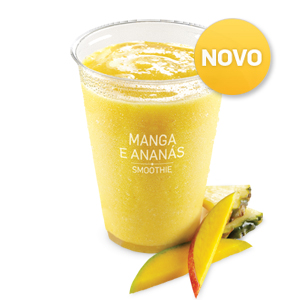 Iced Fruit Smoothie Manga e Ananás (400ml)