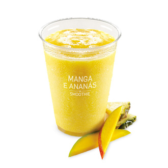 Iced Fruit Smoothie Manga / Ananás (400 mL)
