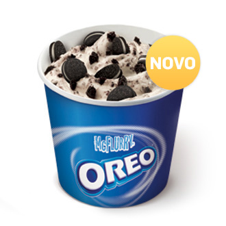 McFlurry Oreo Intenso